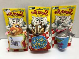 Fuzzu Snack Bar Cat Toy in 3 Designs Mice Tea Bag o Chippies