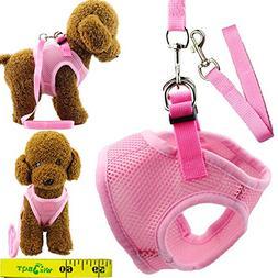 Wiz BBQT Soft Adjustable Mesh Dog Puppy Cat Pet Vest Harness