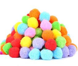 "PET SHOW 1.8"" Soft Cat Toys Balls Kitten Cats Toy Pompon Bal"