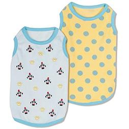 Blueberry Pet Pack of 2 Soft & Comfy Terry Cotton Pastel Blu
