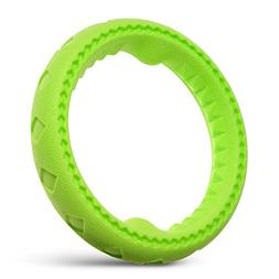 """Fluffy Paws 7"""" Soft Durable Rubber Ring Dental Chewing Bitin"""