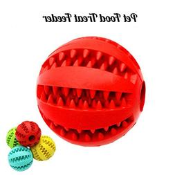 Lion Head Soft Rubber Dog Toy Ball Health Teeth Cleaning Int