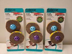 Petstages Spin and Scratch 2 Pack Cat Toys