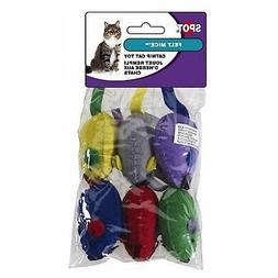 Spot Ethical Felt Mice Cat Toy 6 per bag
