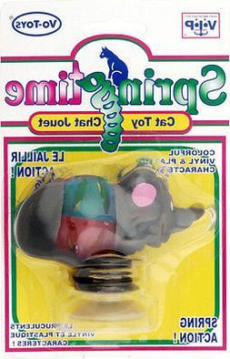 springtime mouse cat toy vinyl plastic