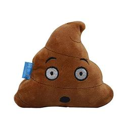 GHUOSKKL Squeaky Plush Dog Toy - Poop -C