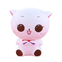 Yezike SquishiesToy, Squishy Kitty Cat Doll Scented Jumbo Ch