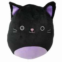 "Squishmallow Kellytoy 12"" Halloween Squad Autumn Black Cat P"