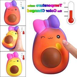 squishy jumbo temperature change scented