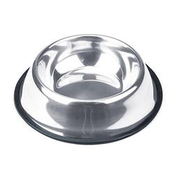 Weebo Pets Stainless Steel No-Tip Food Bowls - Choose Your S