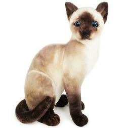 Stefan the Siamese Cat | 14 Inch Stuffed Animal Plush | By T
