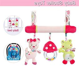 Baby Stroller Toys, Infant Hanging Toys, Newborn Baby Car Be