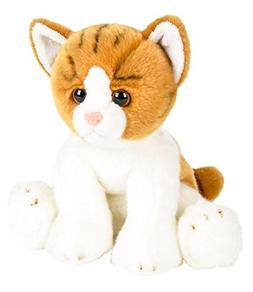 "Wildlife Tree 12"" Stuffed Orange and White Tabby Kitten Plus"
