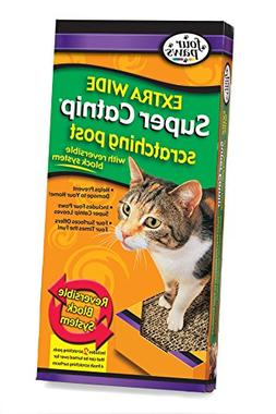 Four Paws Super Catnip Extra Wide Cat Scratching Post
