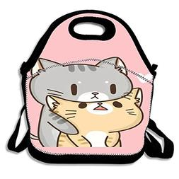 Super Cute Insulated Lunch Bag Tote Reusable Waterproof Scho