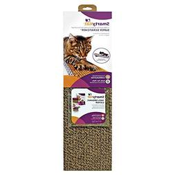SmartyKat Super Scratcher Cat Scratcher Corrugated Catnip Sc