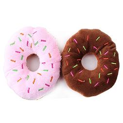 Rachel Pet Products Sweet Doughnut Shaped Plush Toys for Dog