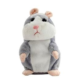 Leagway Talking Hamster Toy - Repeats What You Say and Can w