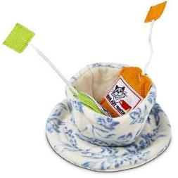 Leaps & Bounds Teacup Cat Toy, One Size Fits All, Multi-Colo