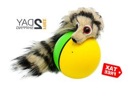 The Weasel Rolls Ball Interactive Cat Puppy Run Play Toys Do
