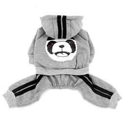 SMALLLEE_LUCKY_STORE  Thick Warm Panda Hoodies Sweatshirt Do