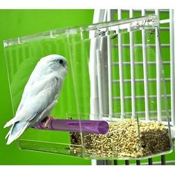 Tweeky Clean tidy Bird Feeder parrot toy toys canary cockati