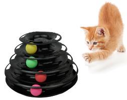 Purrfect Feline Titan's Tower - New Safer Bar Design, Intera