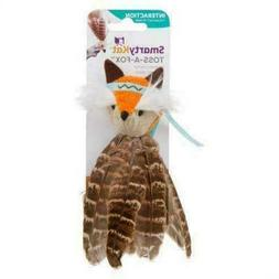 SmartyKat Toss-a-Fox Feathered Cat Toy Product Name Small