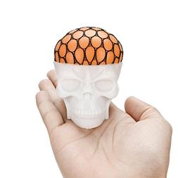 Toy, Botrong Non-toxic Funny Pressure Skull Toy Popping Out