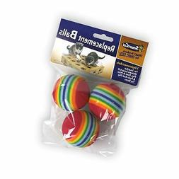 Pioneer Pet Toy Box Balls for Cat Colors may vary, 3 Count