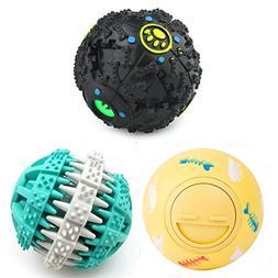 PetFavorites Treat Dispensing Dog Toy IQ Balls Interactive C