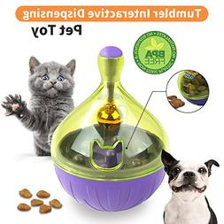 Yitour Tumbler Pet IQ Treat Ball - Interactive Smart Food Tr
