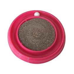 Zhao Xiemao Turbo Scratcher Cat Toy, Colors May Vary Pet Sup