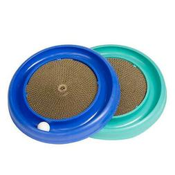 Bergan Turbo Scratcher Kitten & Cat Track Ball Toy with Card