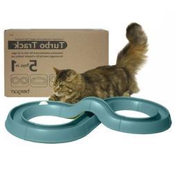 Bergan Turbo Track Cat Toy, Green