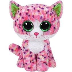 """Ty Beanie Boos 6"""" Sophie Pink Polka Dot Cat Gift Collections"""
