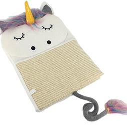 Fashion Unicorn Shape Design Cat Scratching Board Kitten Scr