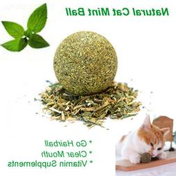 us 1pc natural health catmint ball cat