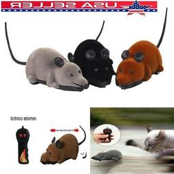 US Pet Cat Mice Mouse Wireless Remote Control Toy Funny Pran