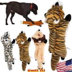 US Pet Dog Cat Puppy Plush Squeaky Toy Soft Sound Chew Squea