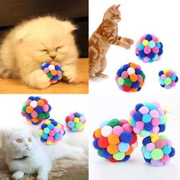 US Seller Funny Cat Dog Pet Bell Ball Teaser Exercise Automa