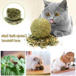 USA 1PC Natural Health Catmint Ball Cat Grass Pet Supplies K