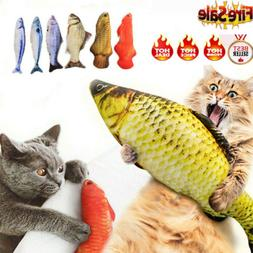 USA Bite Cat Fish Realistic Plush Simulation Carp Doll Fish