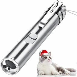 USB RECHARGEABLE SUPER LASER POINTER  PEN 3 in 1 Cat Pet Toy