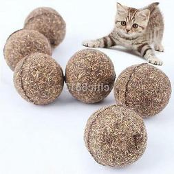 Useful Cat Toy Natural Catnip Ball Menthol Flavor Edible Cat