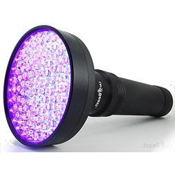 uvBeast Black Light UV Flashlight – HIGH POWER 100 LED wit
