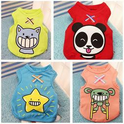 Various Pet Puppy Small Dog Cat Pet Clothes Dress Vest T Shi