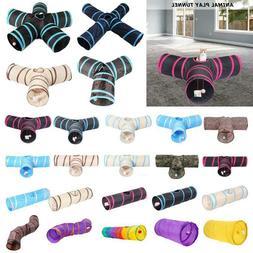 Various Shapes Foldable Pet Cat Tunnel Cute Toys Animal Kitt