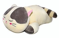 Vintoys Very Soft Cat Big Hugging Pillow Plush Kitten Kitty