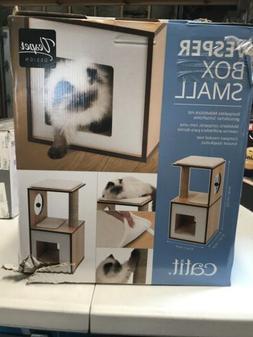 Catit Vesper Cat Scratcher - Walnut - S DAMAGED BOX